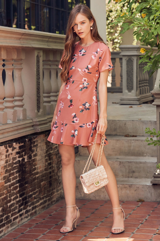Viette Floral Printed Dress