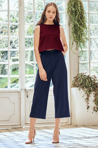 Carlotte Pants in Navy