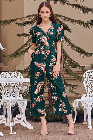 Shital Floral Printed Jumpsuit