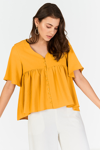 *Restock* Estelle Top in Dandelion