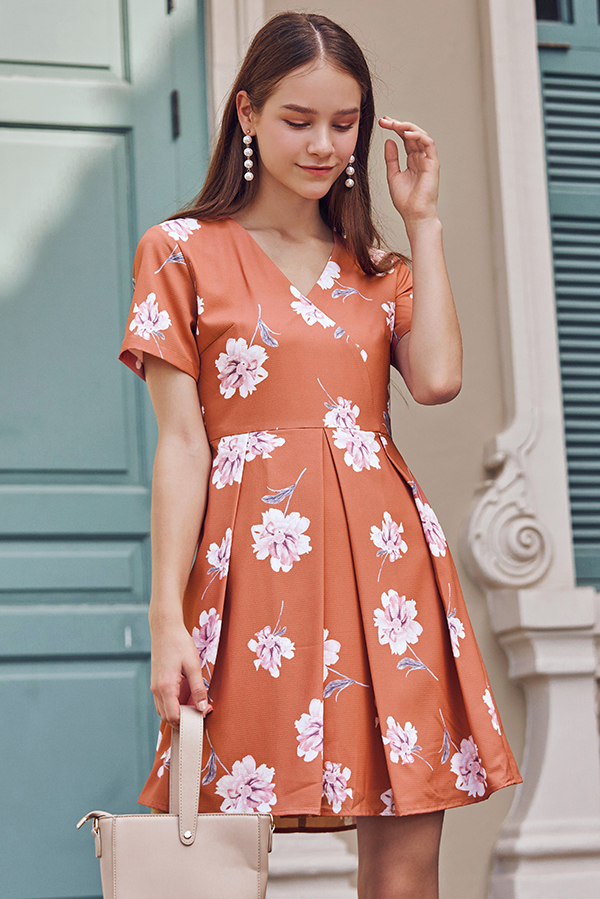 Quinta Floral Printed Dress