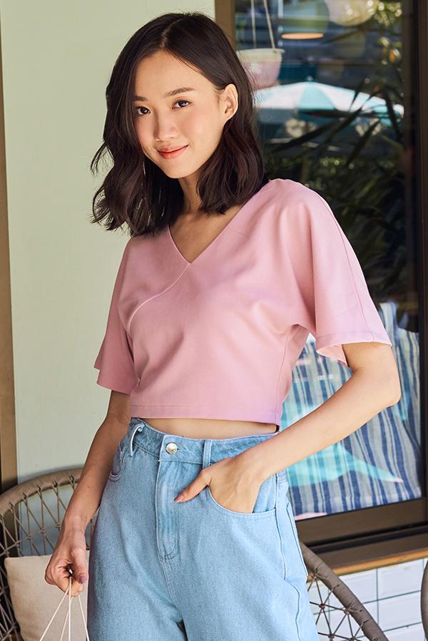 Claudi Top in Pink