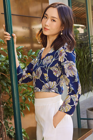 Calla Floral Printed Top