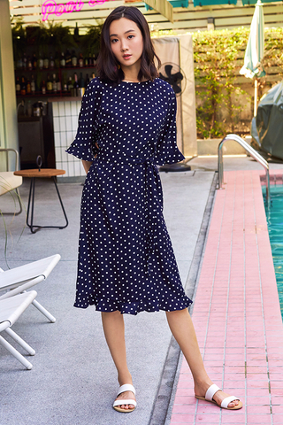 Clessi Polka Dotted Dress