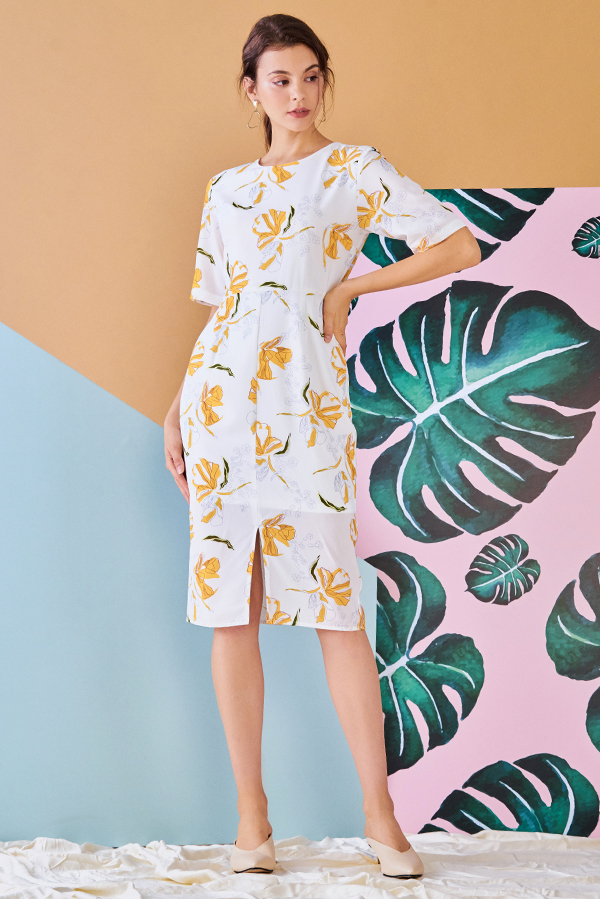 Ellsa Floral Printed Dress