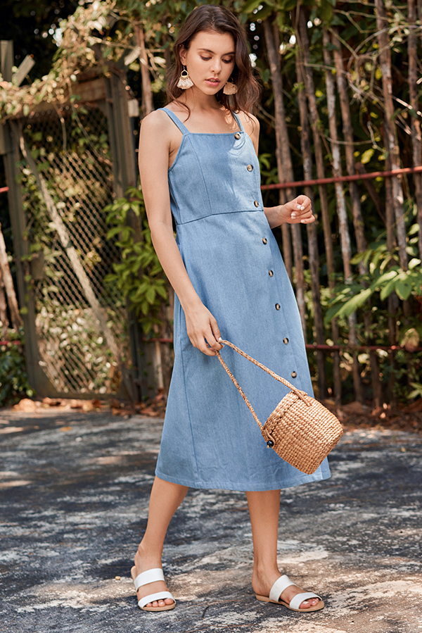 e22269d1cdf4 Rolanna Denim Midi Dress
