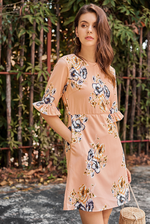 Chantila Floral Printed Dress
