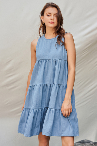 Rolanna Denim Dress