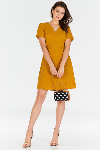 Kendyce Dress in Marigold