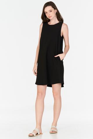 Parisa Two Way Dress in Black