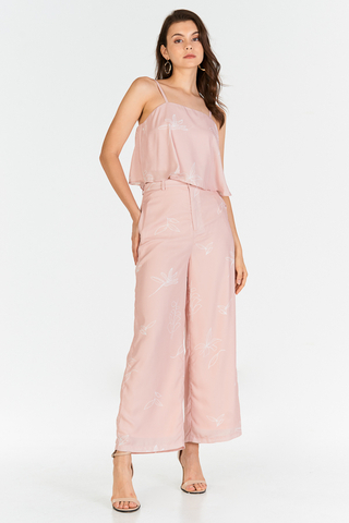 Leane Printed Top in Pink