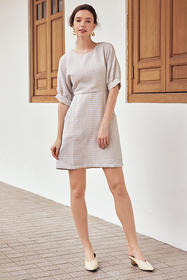 Flonda Tweed Dress