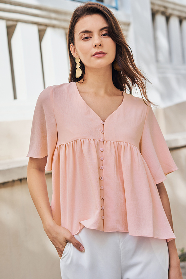 Estelle Top in Pink