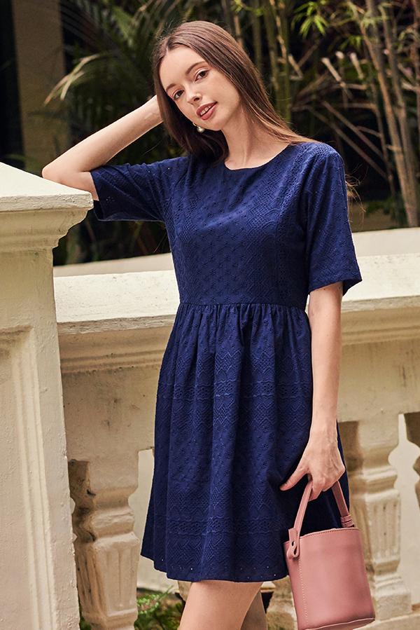 Amora Eyelet Dress
