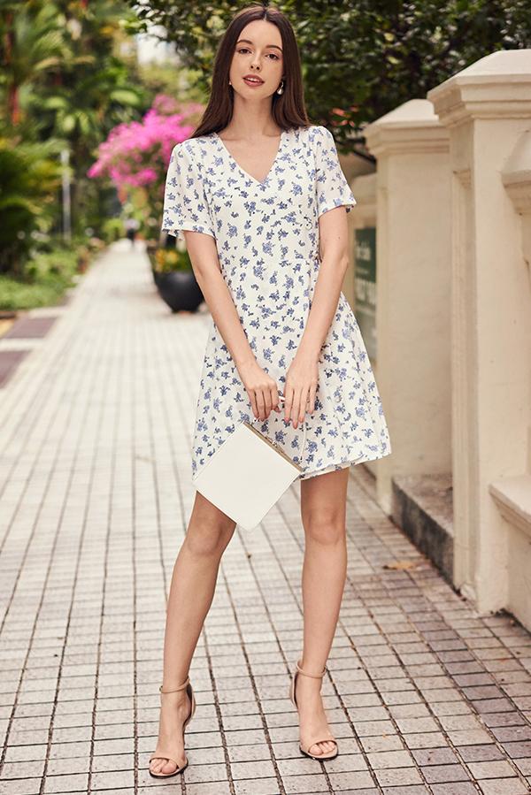 Macia Floral Printed Dress