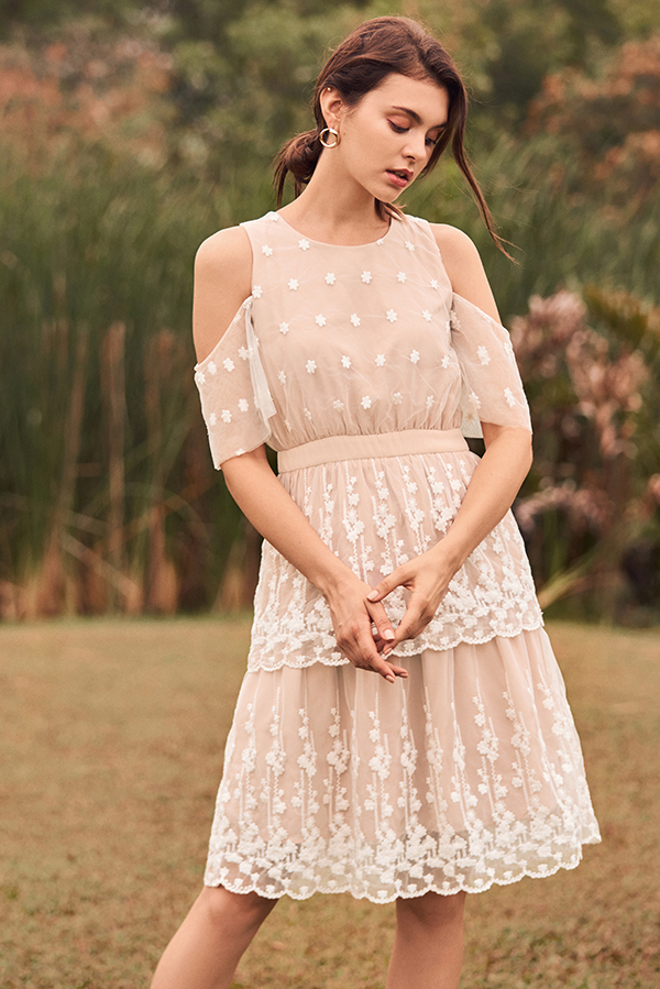 Eunoia Crochet Dress
