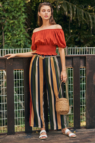 Ellisa Stripes Pants