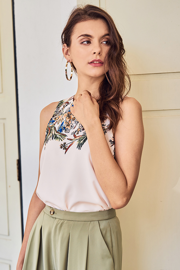 Porina Floral Printed Top