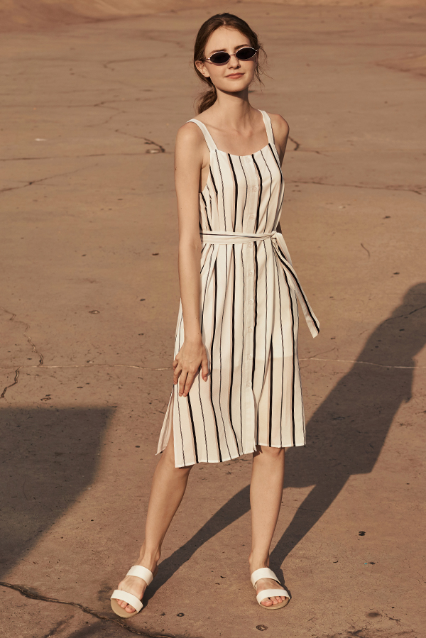 a19320225d Sollia Striped Button Down Dress