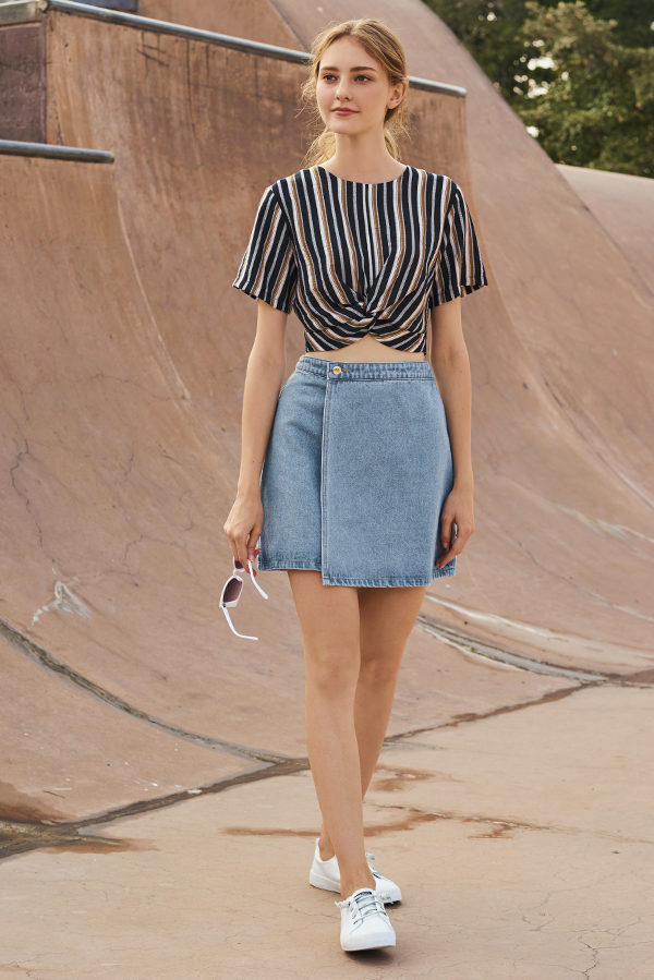 Inga Denim Skirt