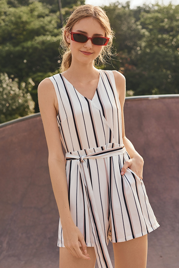 Sollia Striped Romper