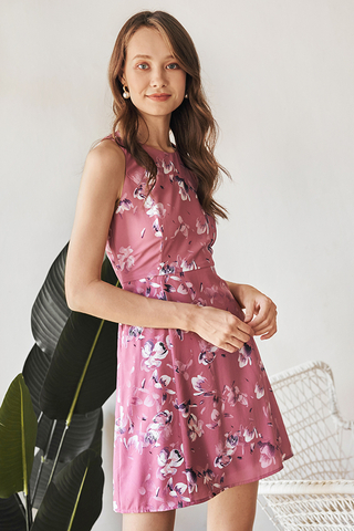 Herisa Floral Printed Dress