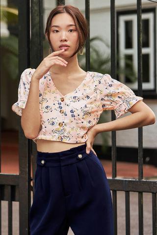 Merissa Floral Printed Top