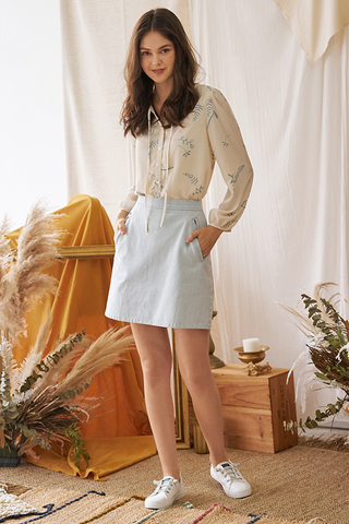 Denira Denim Skirt