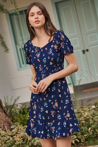 Ristalle Floral Printed Dress