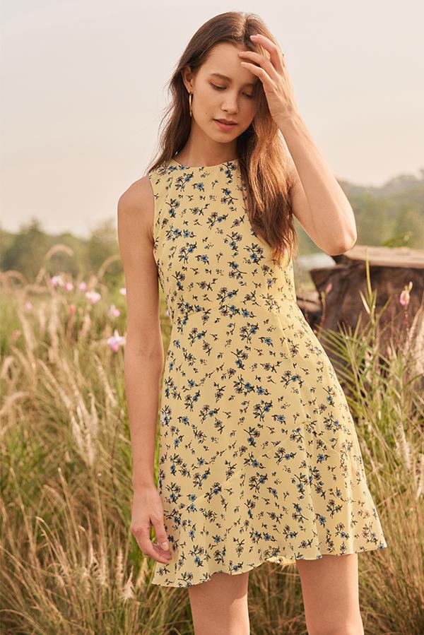 Candora Floral Printed Dress