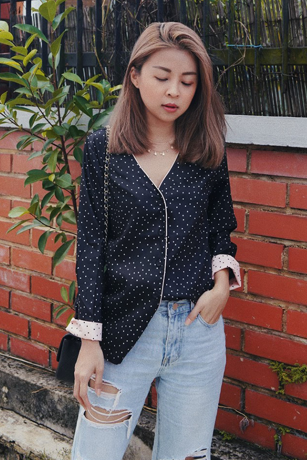Teressa Dotted Shirt