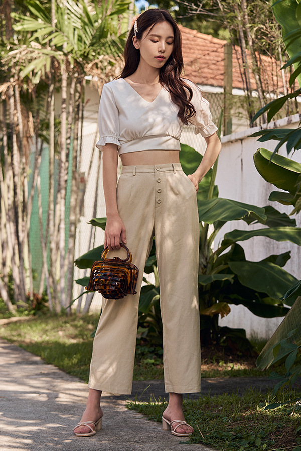 *Restock* Rita Pants in Khaki