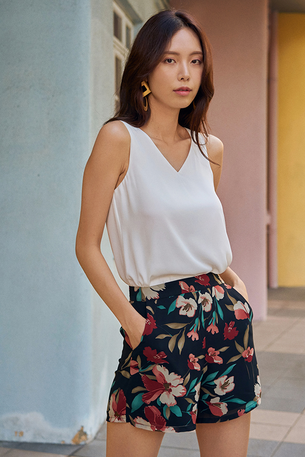 Raylyn Floral Printed Shorts