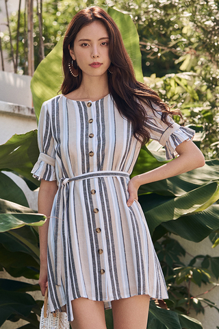Sherilyn Striped Dress