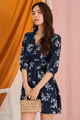 Eria Floral Printed Dress