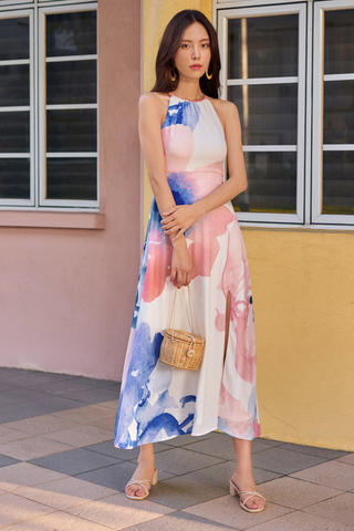 Annice Watercolour Maxi Dress