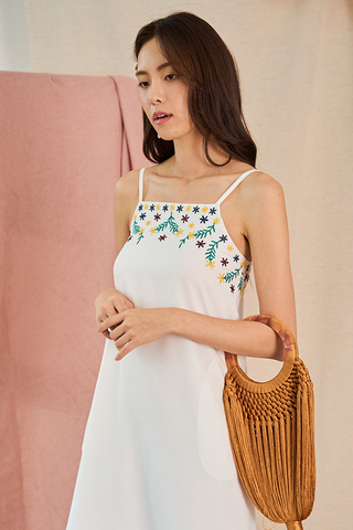 Avia Embroidered Dress