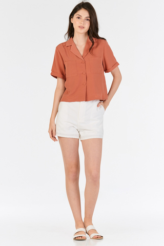 Delcie Collared Shirt in Sierra