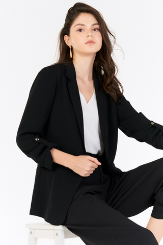 *Backorder* Castelle Blazer in Black