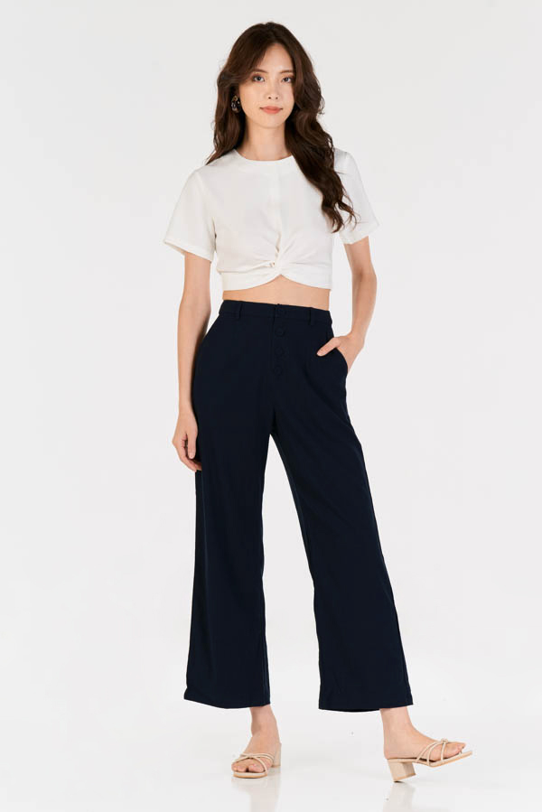 *Restock* Rita Pants in Dark Navy