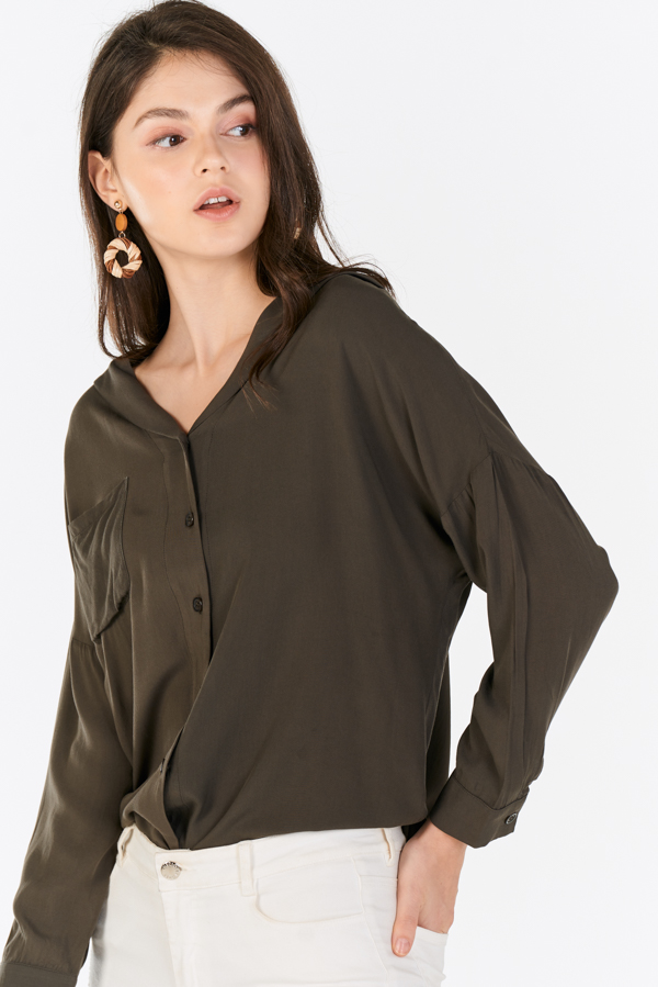 Harl Shirt in Olive