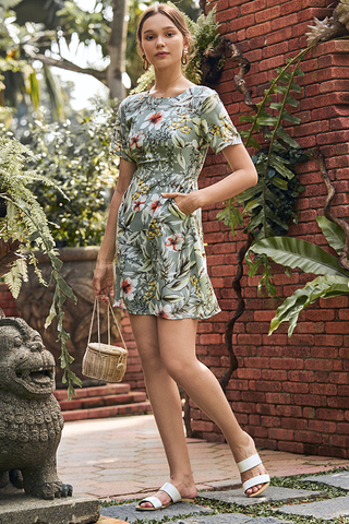Seraphina Floral Printed Dress