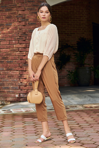 Caria Pants in Camel