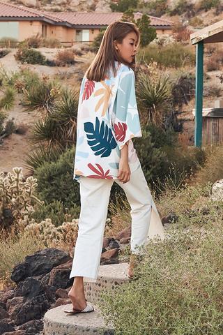 *Backorder* Coast Ville Kimono in White