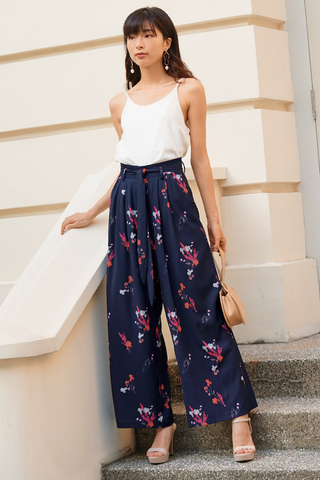 Calsine Floral Printed Pants