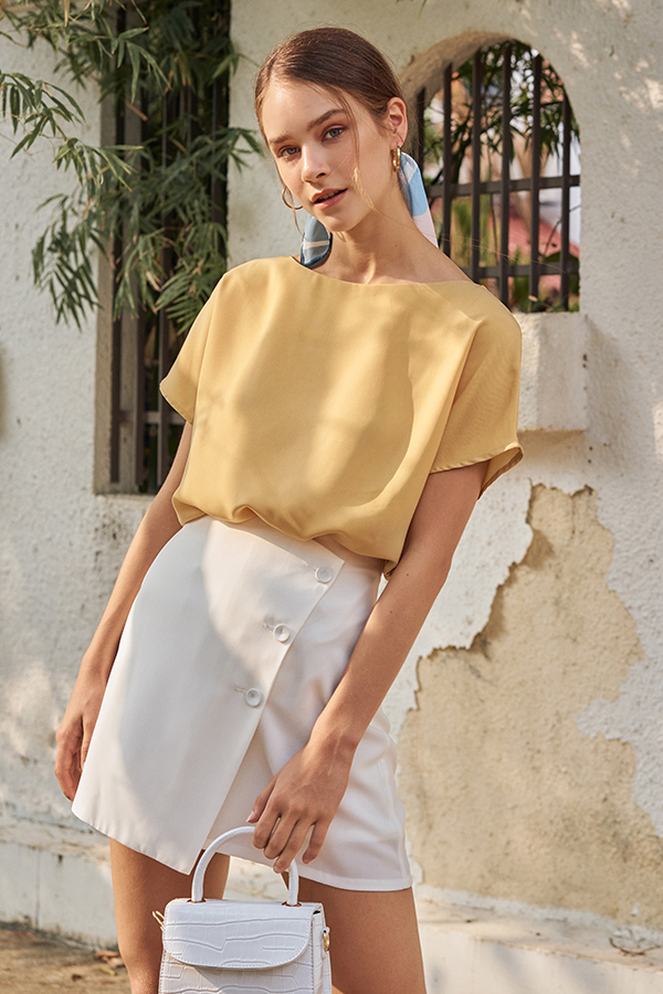 Kassie Top in Daffodil