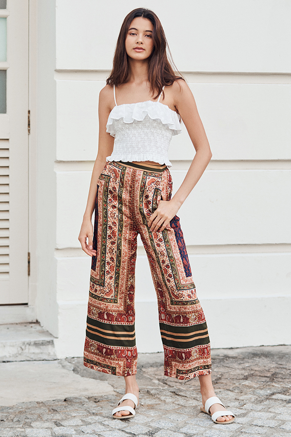 Abella Printed Pants