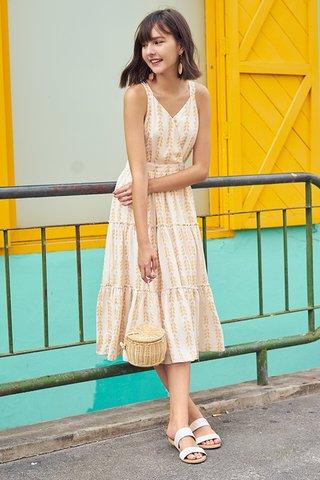 Bronson Printed Midi Dress