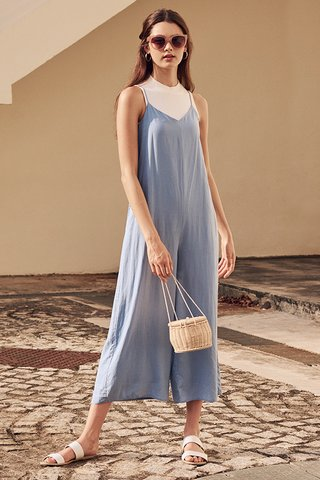 Rhea Jumpsuit in Light Blue