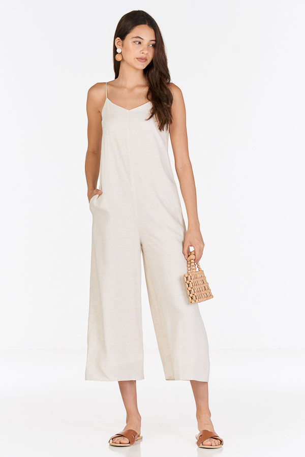 Rhea Jumpsuit in Moonbeam